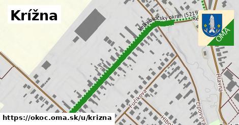 ilustrácia k Krížna, Okoč - 587m