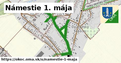 ilustrácia k Námestie 1. mája, Okoč - 1,05km
