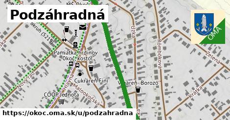 ilustrácia k Podzáhradná, Okoč - 418m