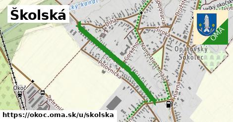 ilustrácia k Školská, Okoč - 0,72km