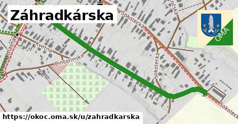 ilustrácia k Záhradkárska, Okoč - 637m