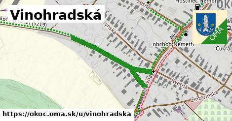 ilustrácia k Vinohradská, Okoč - 382m