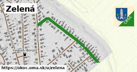 ilustrácia k Zelená, Okoč - 435m