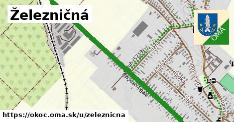 ilustrácia k Železničná, Okoč - 1,74km