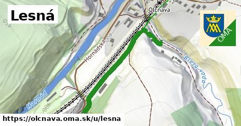 ilustrácia k Lesná, Olcnava - 385m