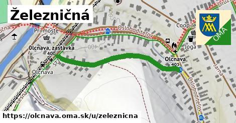 ilustrácia k Železničná, Olcnava - 408m