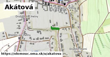 ilustrácia k Akátová, Olomouc - 58m