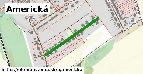ilustrácia k Americká, Olomouc - 332m