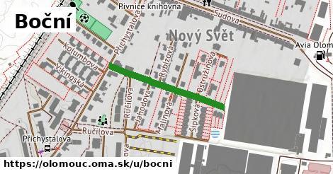 ilustrácia k Boční, Olomouc - 267m