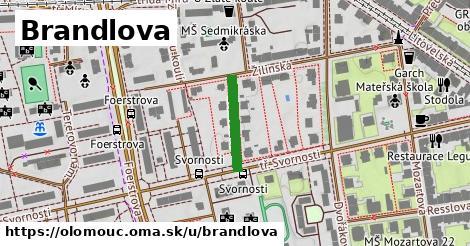 ilustrácia k Brandlova, Olomouc - 148m