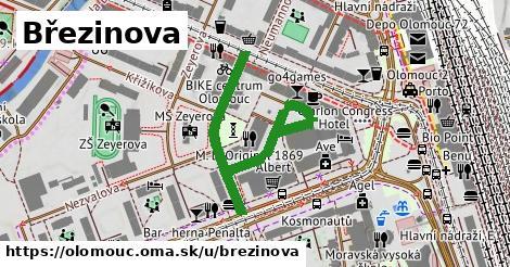 ilustrácia k Březinova, Olomouc - 490m