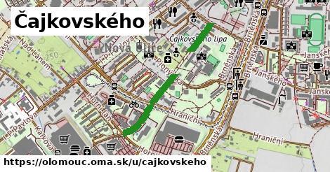 ilustrácia k Čajkovského, Olomouc - 512m