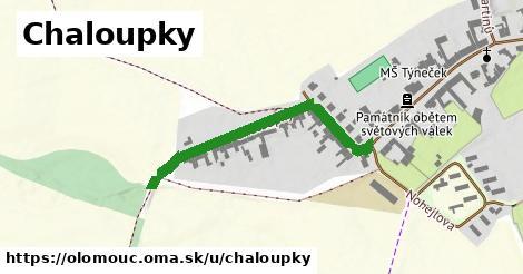ilustrácia k Chaloupky, Olomouc - 373m