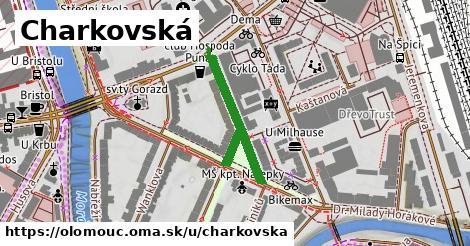 ilustrácia k Charkovská, Olomouc - 283m