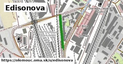 ilustrácia k Edisonova, Olomouc - 215m