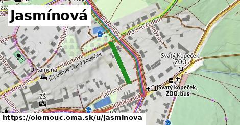 ilustrácia k Jasmínová, Olomouc - 137m