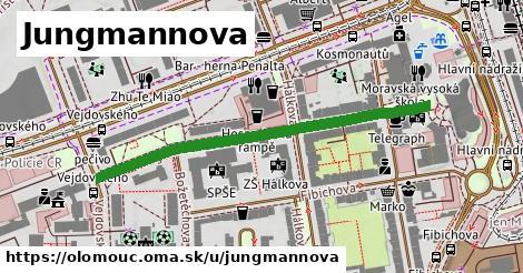ilustrácia k Jungmannova, Olomouc - 469m