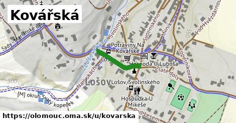ilustrácia k Kovářská, Olomouc - 152m