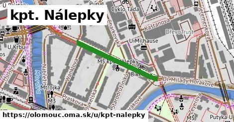 ilustrácia k kpt. Nálepky, Olomouc - 274m