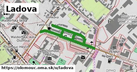 ilustrácia k Ladova, Olomouc - 607m