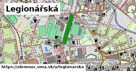 ilustrácia k Legionářská, Olomouc - 0,79km