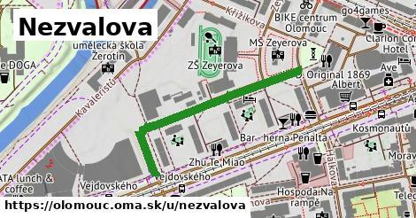ilustrácia k Nezvalova, Olomouc - 380m