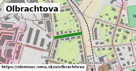 ilustrácia k Olbrachtova, Olomouc - 151m