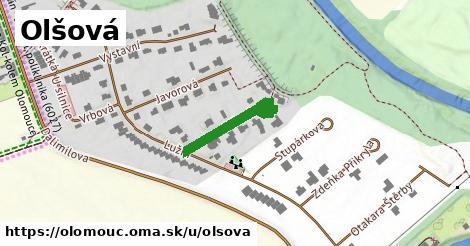 ilustrácia k Olšová, Olomouc - 198m
