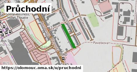 ilustrácia k Průchodní, Olomouc - 143m