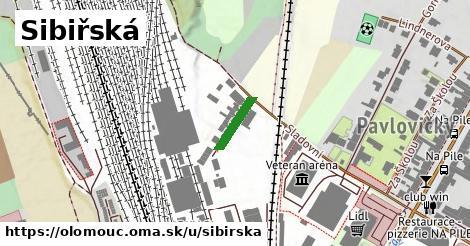 ilustrácia k Sibiřská, Olomouc - 109m