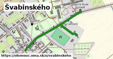 ilustrácia k Švabinského, Olomouc - 584m