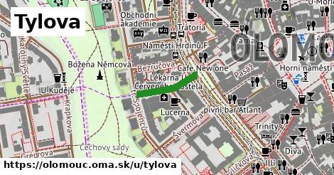 ilustrácia k Tylova, Olomouc - 141m