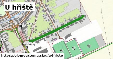 ilustrácia k U hřiště, Olomouc - 402m
