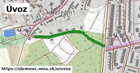 ilustrácia k Úvoz, Olomouc - 393m
