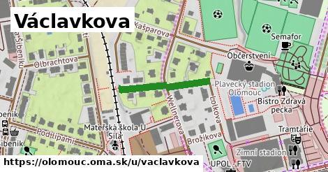 ilustrácia k Václavkova, Olomouc - 203m