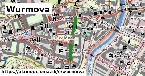 ilustrácia k Wurmova, Olomouc - 175m