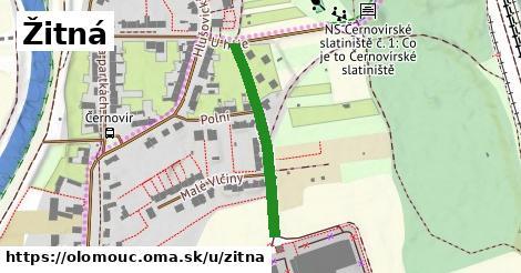 ilustrácia k Žitná, Olomouc - 277m