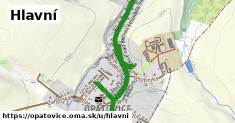 ilustrácia k Hlavní, Opatovice - 2,2km