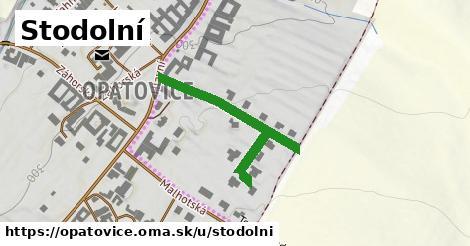 ilustrácia k Stodolní, Opatovice - 348m