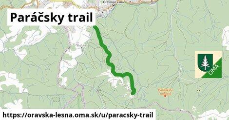 ilustrácia k Paráčsky trail, Oravská Lesná - 4,9km