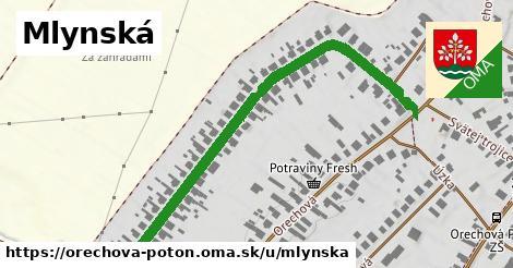 ilustrácia k Mlynská, Orechová Potôň - 659m