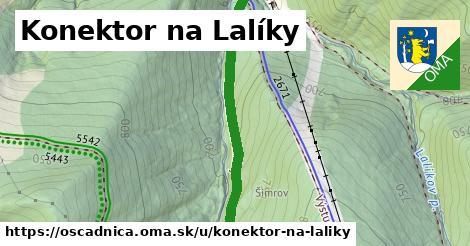 ilustrácia k Konektor na Lalíky, Oščadnica - 0,92km
