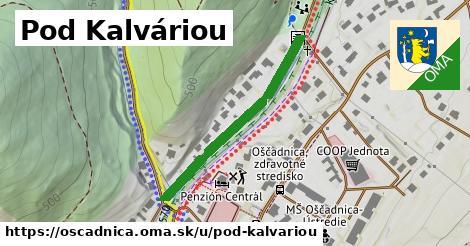 ilustrácia k Pod Kalváriou, Oščadnica - 335m