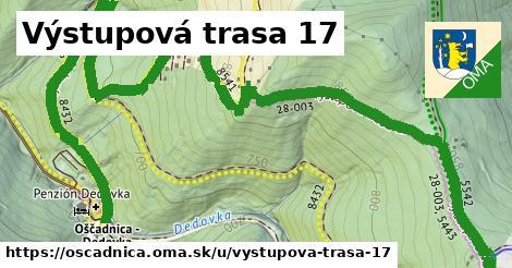 ilustrácia k Výstupová trasa 17, Oščadnica - 3,4km