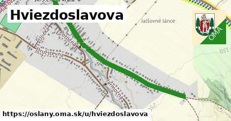 ilustrácia k Hviezdoslavova, Oslany - 1,08km