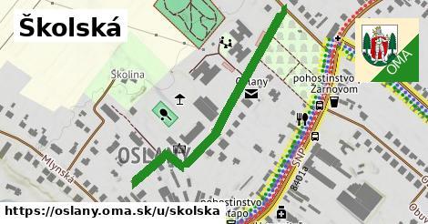 ilustrácia k Školská, Oslany - 443m