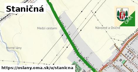ilustrácia k Staničná, Oslany - 1,11km