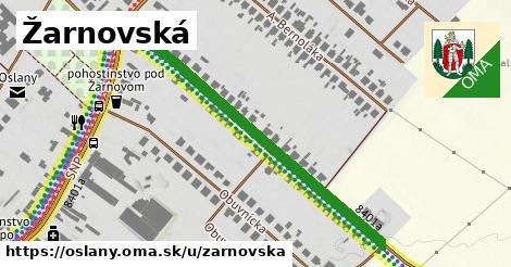ilustračný obrázok k Žarnovská, Oslany