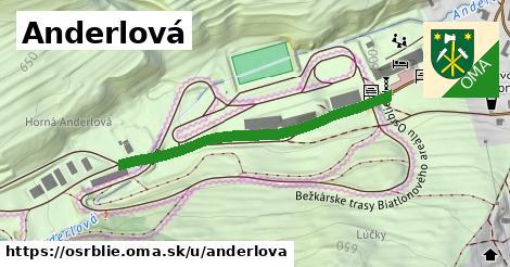 ilustrácia k Anderlová, Osrblie - 408m