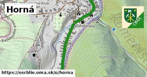 ilustrácia k Horná, Osrblie - 529m